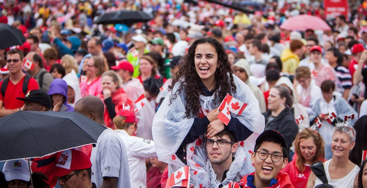 15,000 people obtained Canadian permanent residence