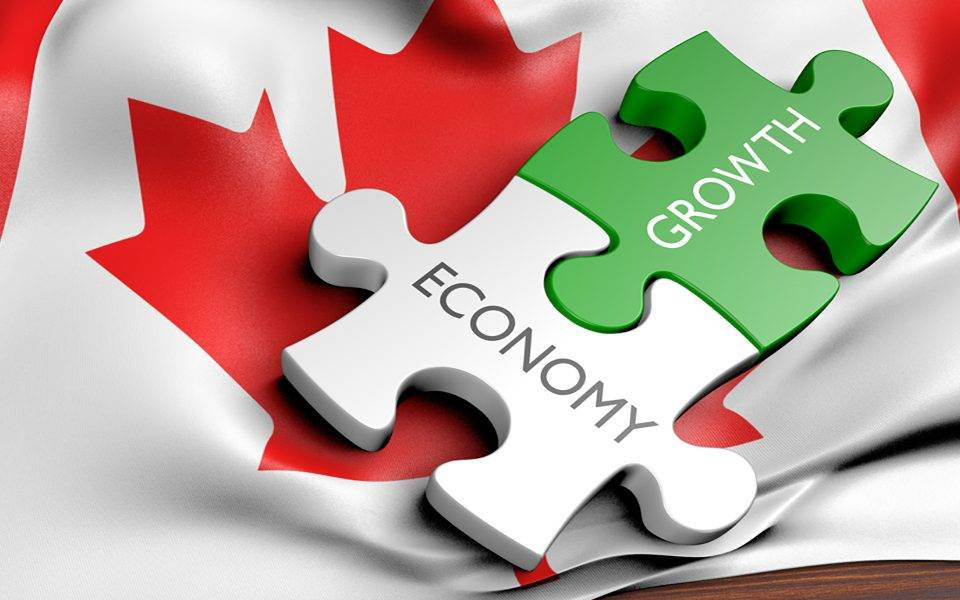 We saw an improvement in Canada's economy in February.